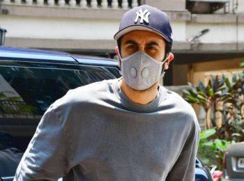 """Aap log ka lockdown nahi hai?"" Ranbir Kapoor asks the paparazzi as he is spotted at a clinic"
