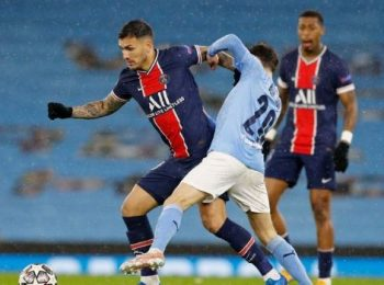Soccer-PSG players claim referee swore at them in Man City defeat