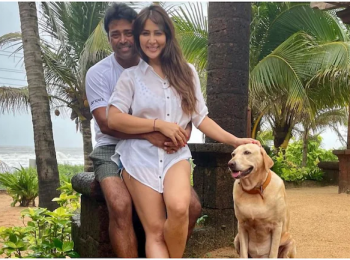 Are Leander Paes and Kim Sharma dating?
